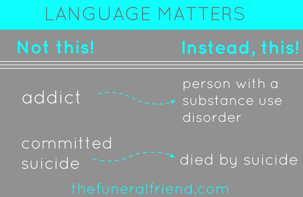 language matters!