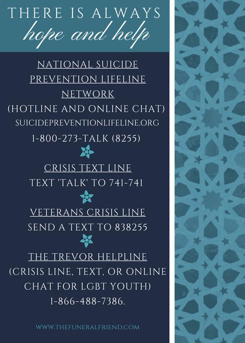 suicide crisis resources